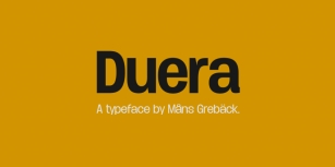 Duera Font Download