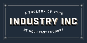 Industry Inc Font Download