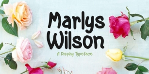 Marlys Wilson Font Download