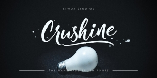Crushine Brush Font Download