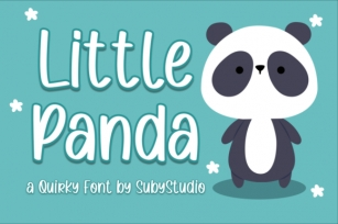 Little Panda Font Download