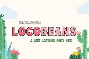 Locobeans Font Duo Font Download