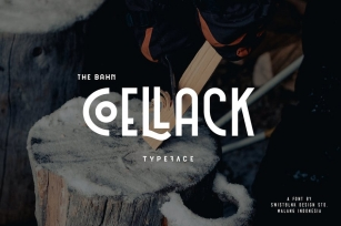 Coellack Typeface Font Download