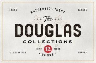 The Douglas Collections Font Download