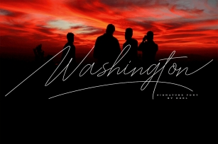 Washington Signature Font Download