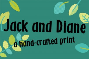 ZP Jack and Diane Font Download