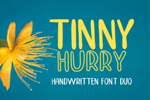 TINNY HURRY Font Download