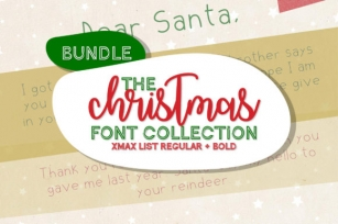 Christmas List Font Download