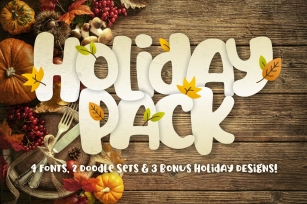 Holiday Font Pack Font Download