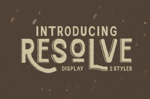 Resolve Font Font Download