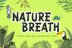 Nature Breath Font Download