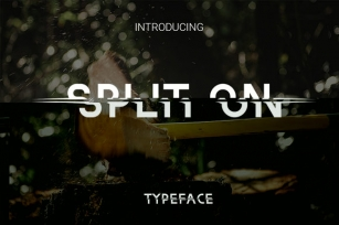 Split On Font Download