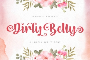 Dirly Belly Font Download