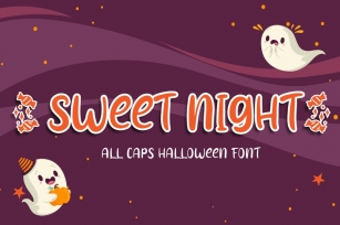 Sweet Night - Halloween Font Font Download