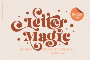 Letter Magic Font Download