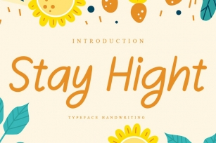 Stay Hight Font Download