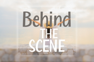Behind the Scene Font Download
