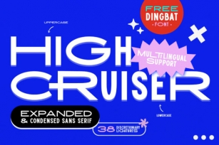High Cruiser Font Download