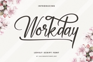 Workday Font Download