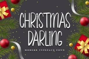 Christmas Darling Font Download