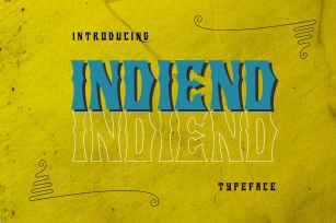 INDIEND Typeface Font Download
