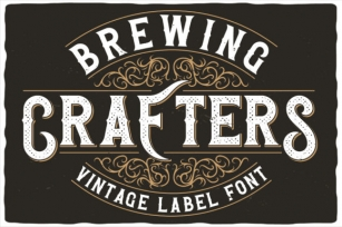 Brewing Crafters Font Download