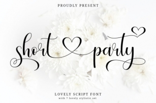 Short Party Font Download