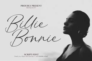 Billie Bonnie Font Download