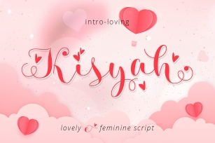 Kisyah Loved Font Download