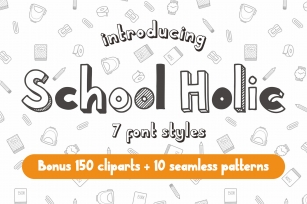 School Holic Family Font Download