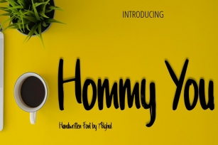 Hommy You Font Download