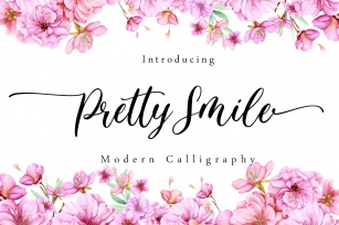 Pretty Smile Font Download