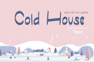 Cold House Font Download