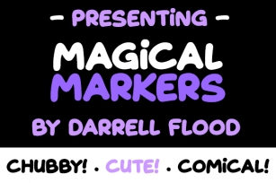 Magical Markers Font Download