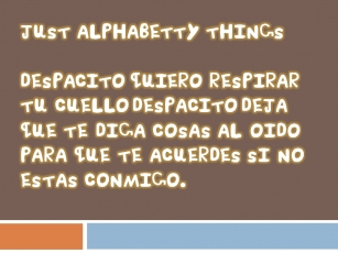 Just Alphabetty Thing! Font Download