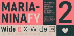 Marianina Extended FY Font Download