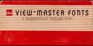 BD Viewmaster Font Download