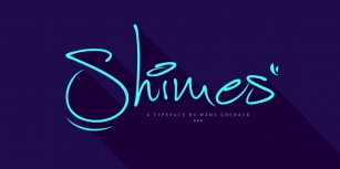 Shimes Font Download