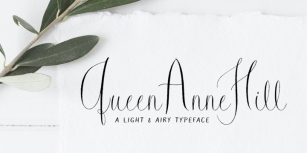 Queen Anne Hill Font Download