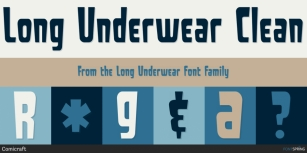 Long Underwear Font Download
