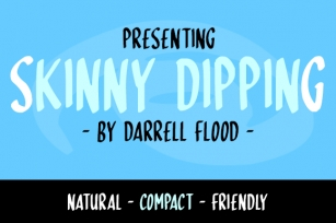 Skinny Dipping Font Download