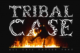 Tribal Case Font Download