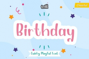 Birthday Font Download