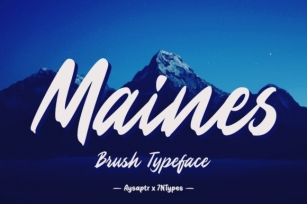 Maines Font Download
