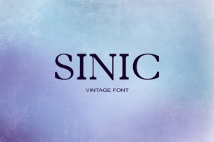 Sinic Font Download