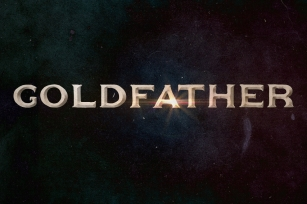Goldfather Font Download