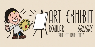 Art Exhibit JNL Font Download