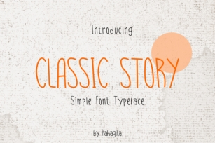 Classic Story Font Download