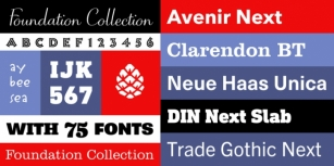 The Foundation Collection Font Download