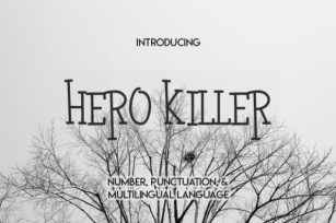 Hero Killer Font Download